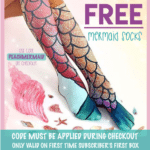 Peaches and Petals Coupon – Free Mermaid Socks with Subscription
