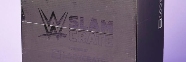 WWE Slam Crate by Loot Crate Subscription Box Review + Coupon – October 2016