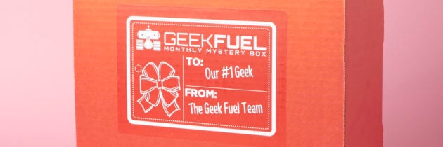 Geek Fuel Subscription Box Review + Exclusive Coupon – December 2016