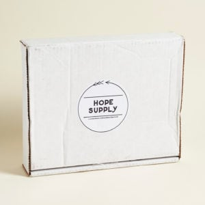 Hope Supply Subscription Box Review – Winter 2016