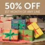 1 Day Left – 50% Off Your First Month of any Kiwi Crate!