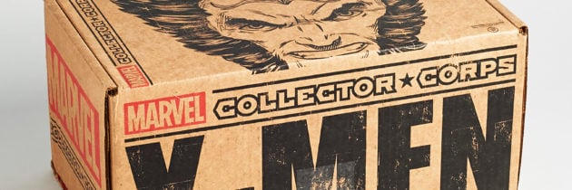 Marvel Collector Corps Subscription Box Review: X-Men – December 2016