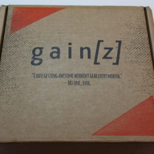 Gainz Box Subscription Review + Coupon – November 2016