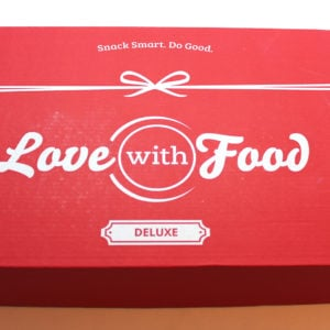 Love with Food Deluxe Box Review + Coupon – December 2016