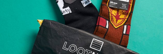 Loot Socks Subscription by Loot Crate Review + Coupon – December 2016