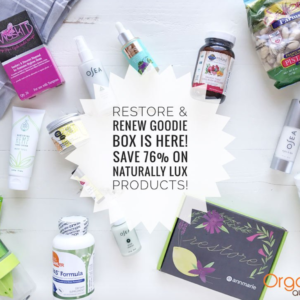 Organic Authority Restore & Renew Goodie Box – Available Now!