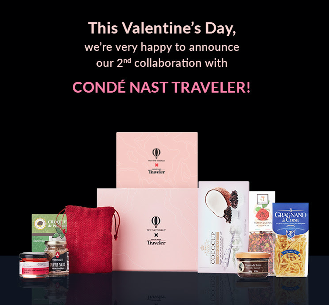 Try The World x Conde Nast Tra...