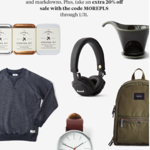 Bespoke Post Winter Sale – Extra 20% Off Select Items!