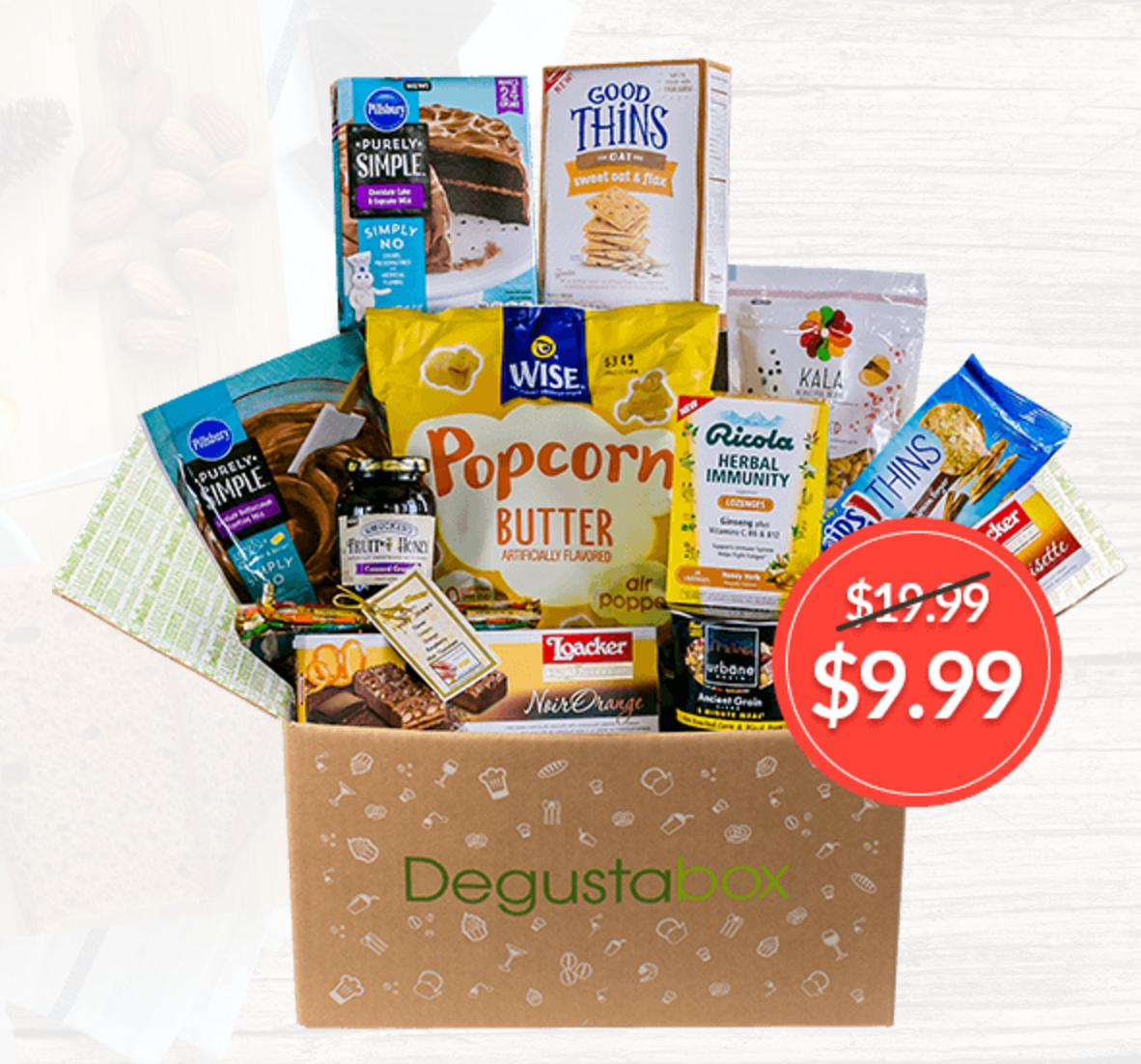 Degustabox October 2018 Spoiler #2 + First Box for $9.99 & Free Gift!