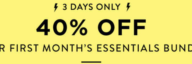 New Honest Company Coupon – 40% Off Your First Essentials Bundle!