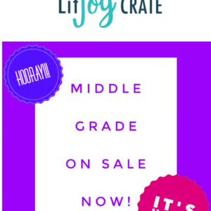 LitJoy Middle Grade Crate Subscription – Available Now!