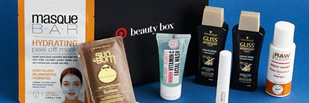 Target Beauty Box Review – February 2017