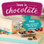 New Graze Offer – 6 Dark Chocolate Cherry Tarts Free With Shop Purchase!