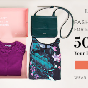 Extended! Le Tote Coupon – 50% Off Your First Two Months!