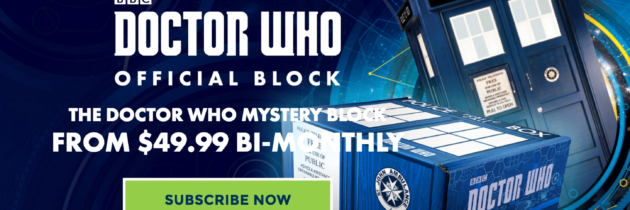New Subscription Box from Nerd Block Available Now – Doctor Who Block!
