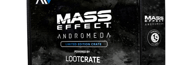 Loot Crate Mass Effect: Andromeda Limited Edition Crate – Available Now!