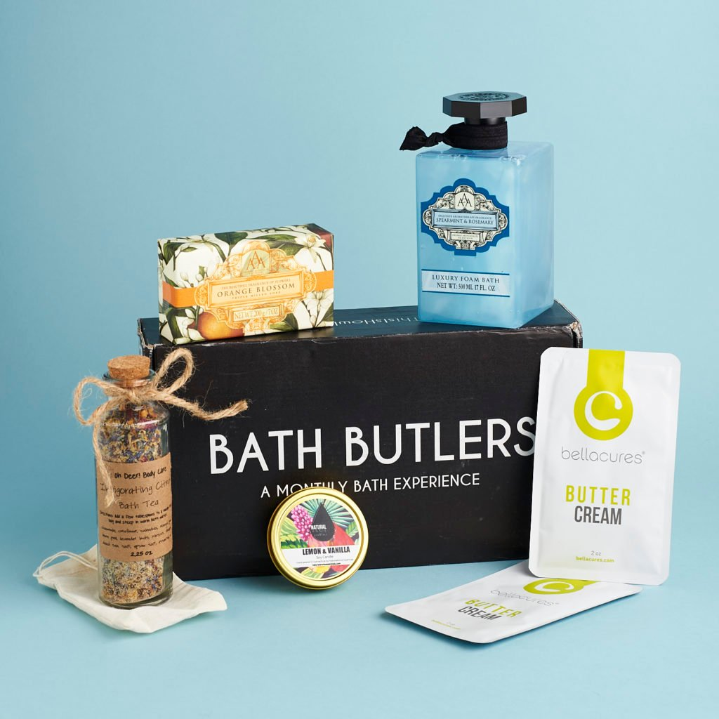 Read our review of the March 2017 Bath Butlers box!