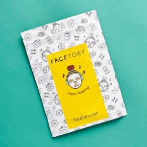Facetory FOUR-Ever Fresh Subscription Box Review – April 2017
