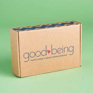 Goodbeing Box Subscription Review – April 2017