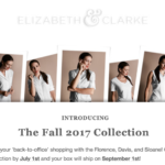 Elizabeth & Clarke Fall 2017 Box Spoilers + Coupon!