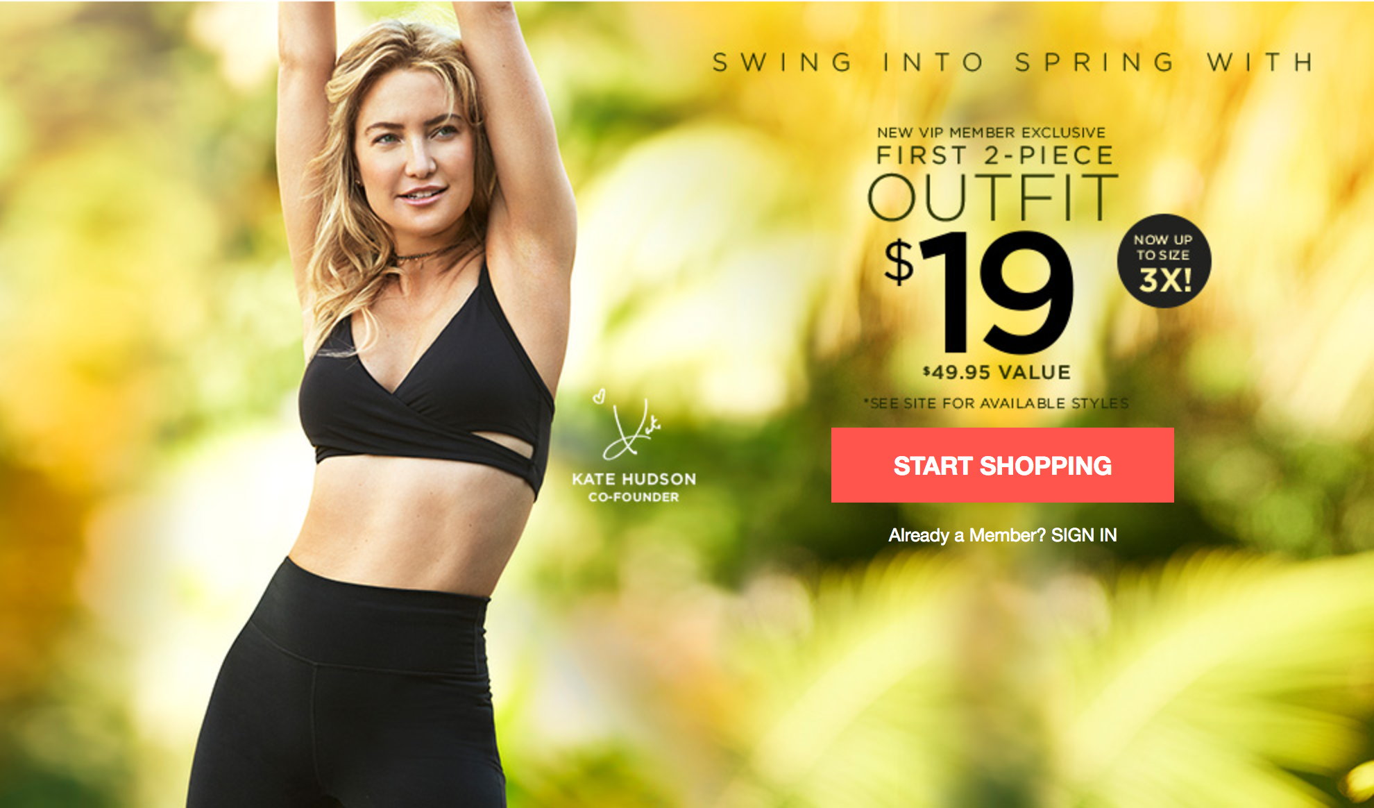 Fabletics Flash Sale Get Your First Outfit For 19 My