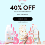 Last Day! Honest Company Earth Day Coupon – 40% Off Your First Bundle!