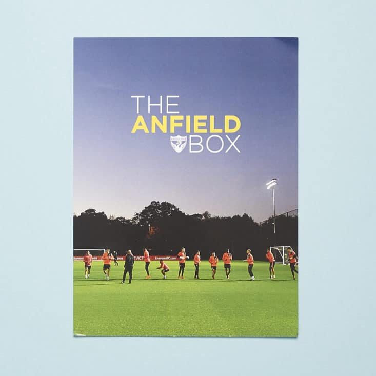 The Anfield Box - Spring 2017 - May 2017 - information card