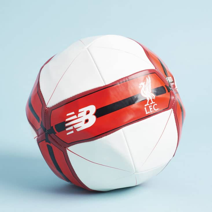 The Anfield Box - Spring 2017 - May 2017 - Liverpool FC New Balance soccer ball inflated