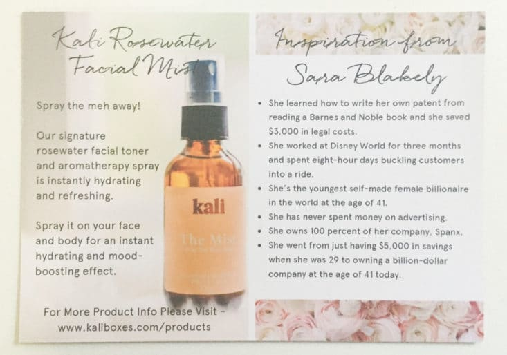 Check out my review of the Kali period subscription box for May 2017!