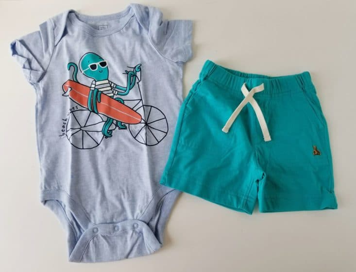 Baby Gap Outfits Box June 2017