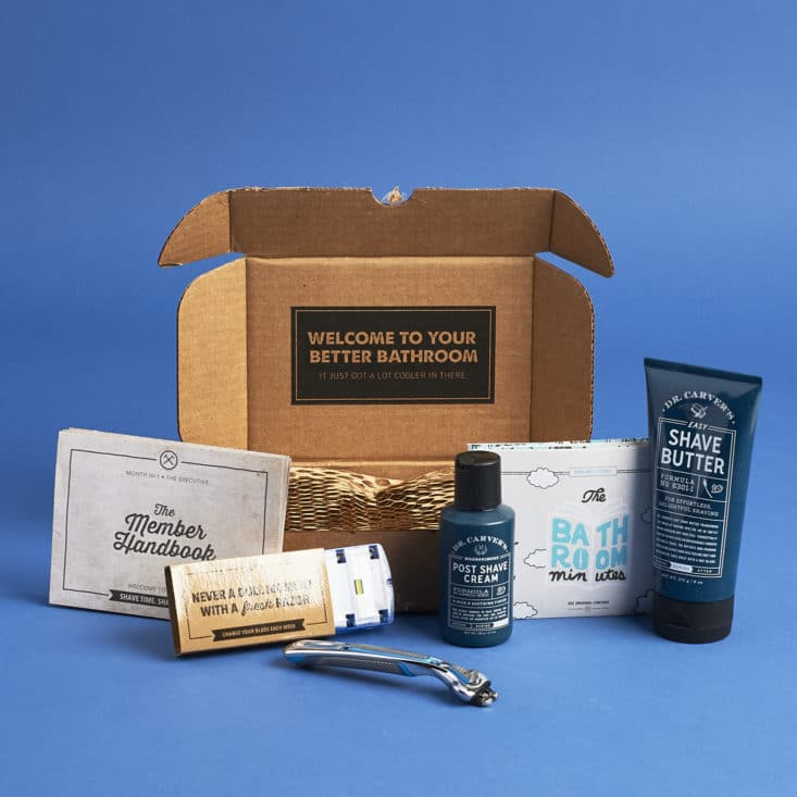 Dollar Shave Club May 2017 Box