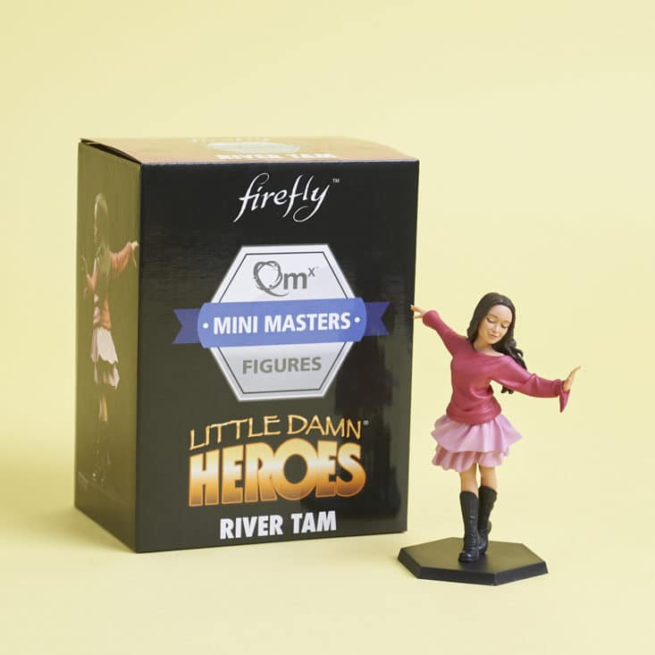 Firefly Cargo Crate - June 2017 - No Power in the 'Verse - Little Damn Heroes - River with box