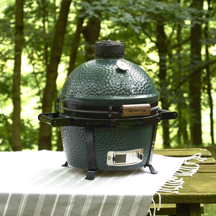 Martha Stewart & Marley Spoon Grilling Recipes Review June 2017 - Bagged Ingredients - Big Green Egg MiniMax