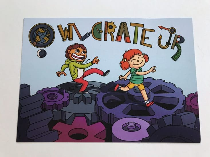 OwlCrate Jr Gizmos and Gears June 2017 Box