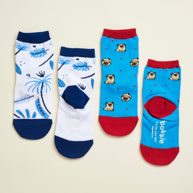 Say It With A Sock Girls June 2017 Review - Two Pairs of Socks