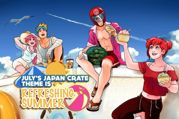 Japan Crate - July 2017