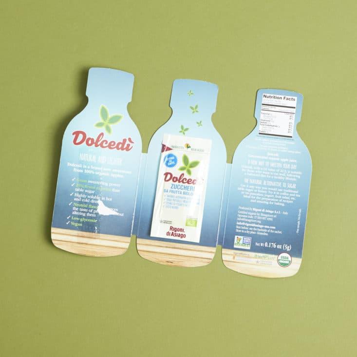 Yummy Bazaar May 2017 Review - Dolcedi Low Glycemic Sweetener