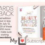 Beauty Choice Awards Limited Edition 2017 Box – SPOILERS!