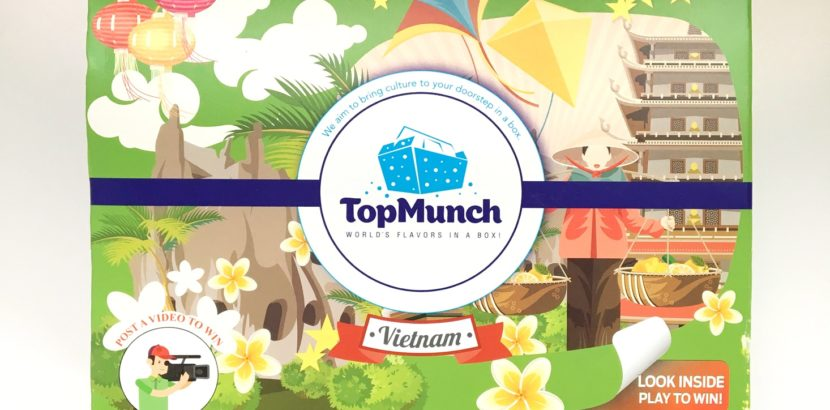 TopMunch July 2017 Snack Subscription Box Review + Coupon – Vietnam