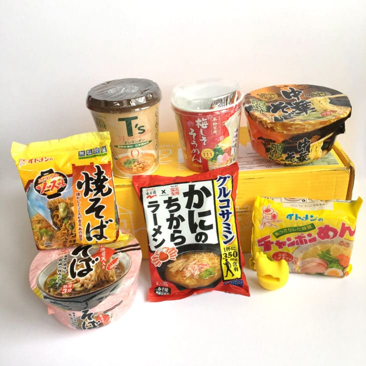 Umai Crate by Japan Crate July 2017 Ramen Noodle Food Subscription Box