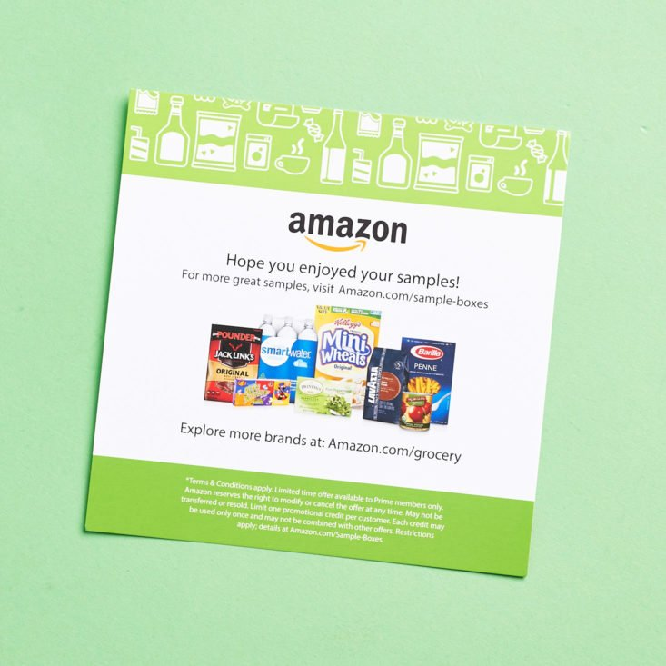 See what healthy, wholesome snacks are in the Amazon Snack Sample subscription box for August 2017!