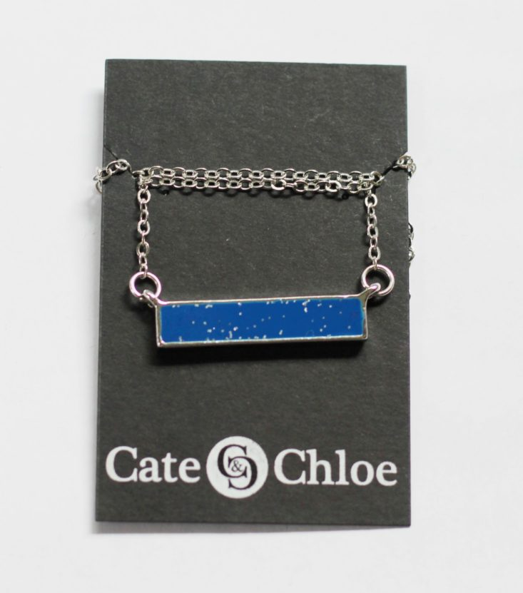 Cate and Chloe August 2017 Women's Jewelry Subscription Box
