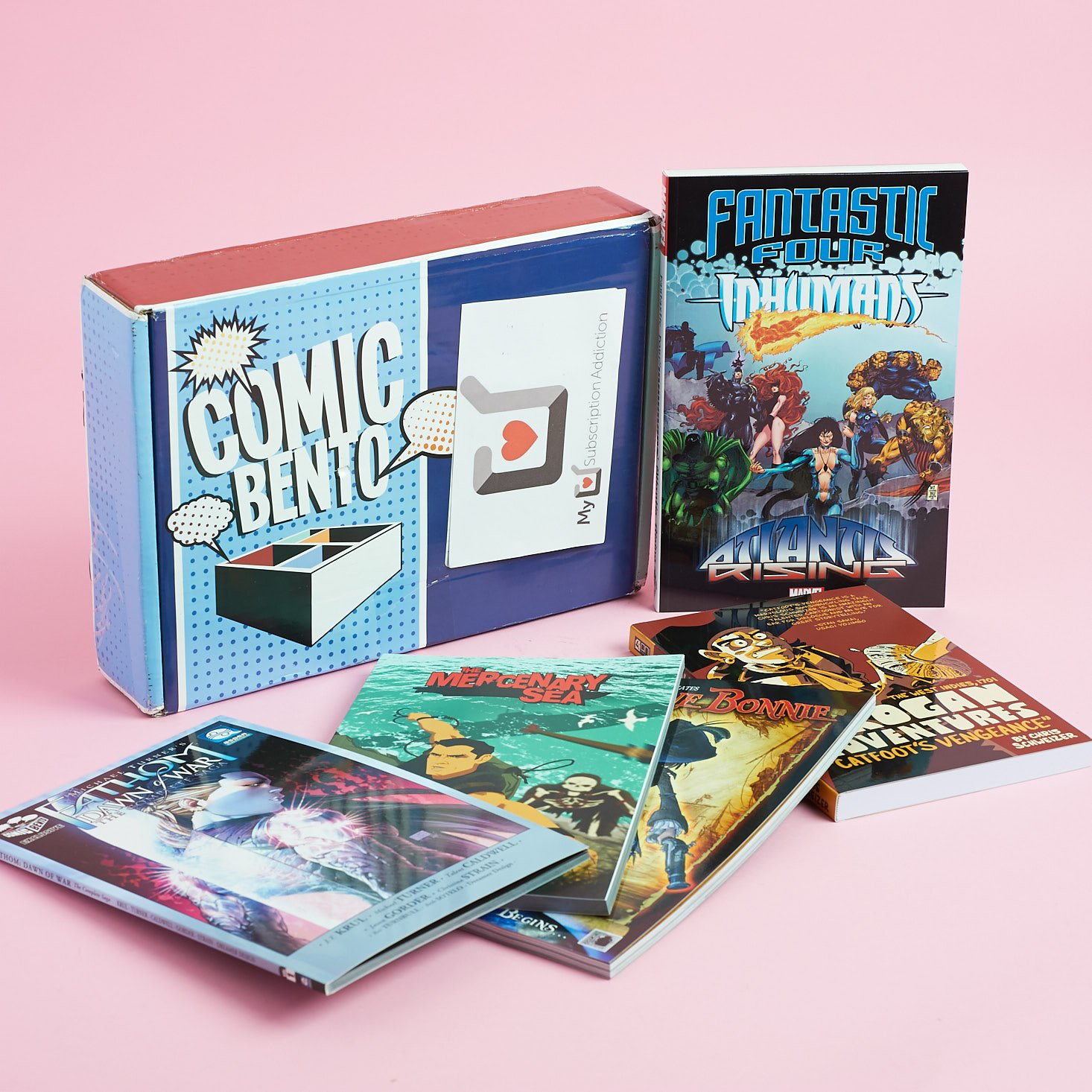Comic Bento Subscription Box Review + 50% Off Coupon – August 2017