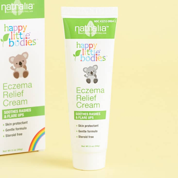 Ecocentric Mom Review, Baby Bathtime Box August 2017 - Happy Little Bodies Eczema Relief Cream