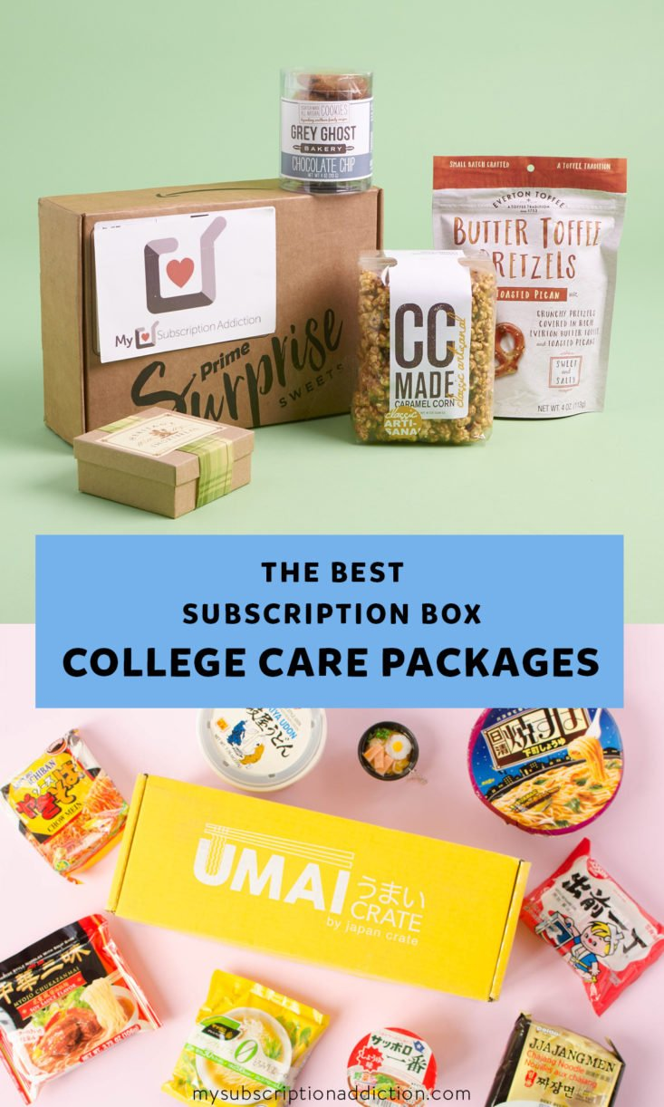 College Care Package Subscription Boxes