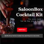 SaloonBox Labor Day Deal – 50% Off First Month With A Pre-Paid Subscription!