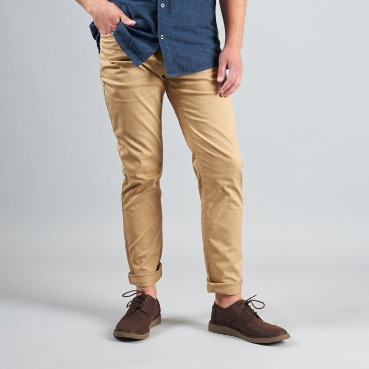 Stitch Fix Mens August 2017 Men's Clothing and Accessories Subscription Box