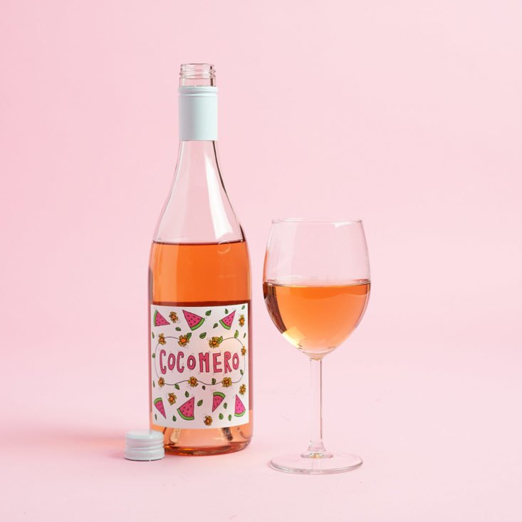 Check out the red white and rose wines I got in my August 2017 Winc Wine Subscription Box!