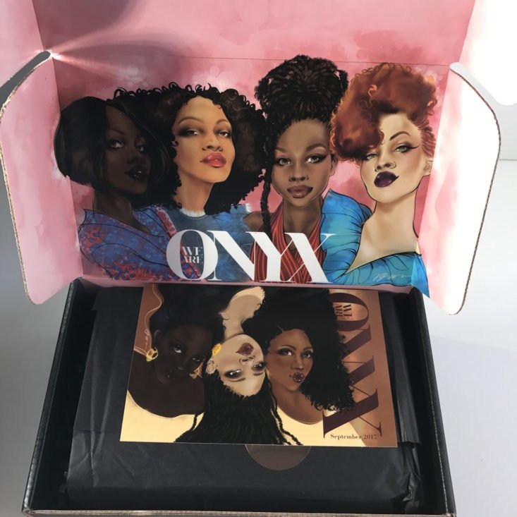 Onyxbox September 2017 Women of Color Subscription Box