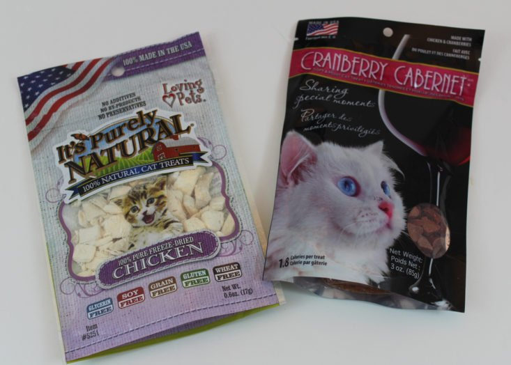 Pet Treater Cat Pack September 2017 Subscription Box for Cats